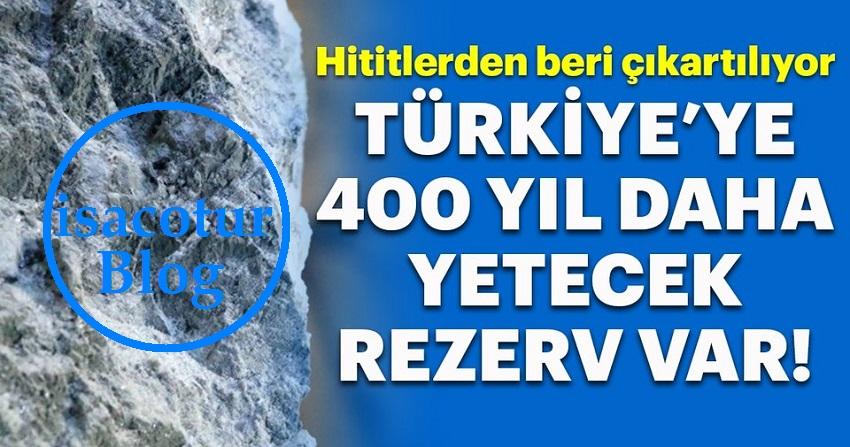 Çankırı Kaya Tuzu Rezervi Türkiye'ye 400 Yıl Yetebilecek