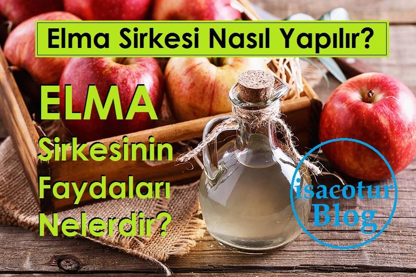 Elma Sirkesi Nasıl Yapılır? Elma Sirkesinin Faydaları Nelerdir?