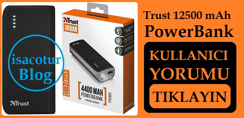 Trust 12500 Powerbank Yorum
