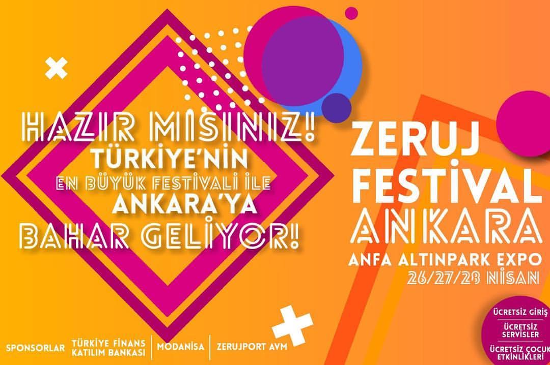 Zeruj Festivali 2019 Ankara Altınpark