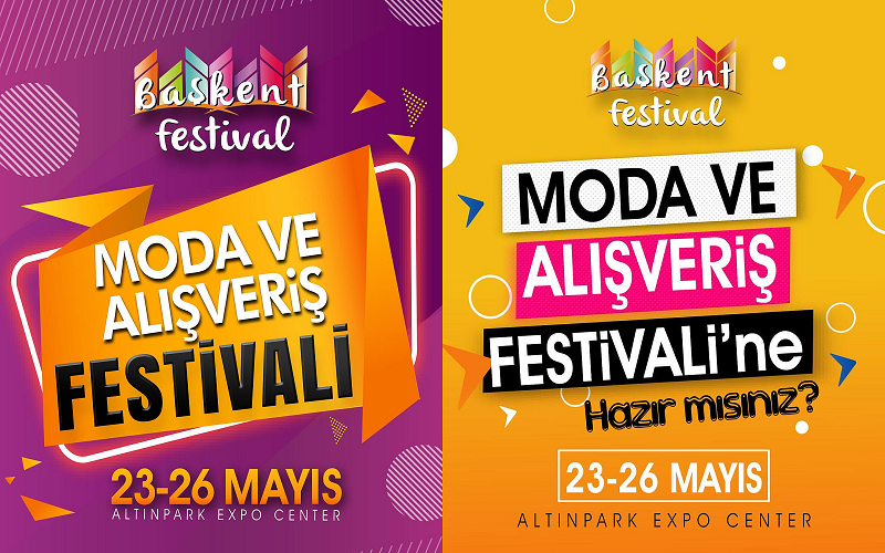 Başkent Moda ve Alışveriş Festivali 2019 Ankara Altınpark