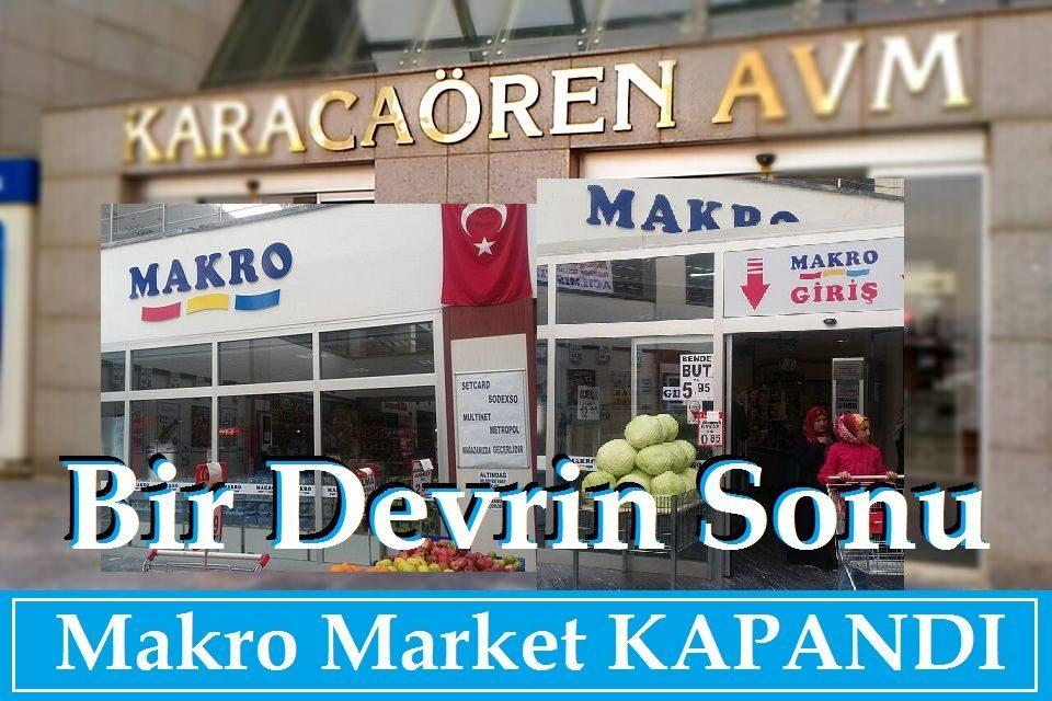 Karacaören Toki Makro Market Battı Mı?