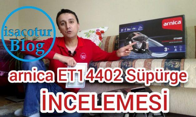Arnica ET14402 Toz Torbasız Elektrikli Süpürge İnceledik ve Yorumladık