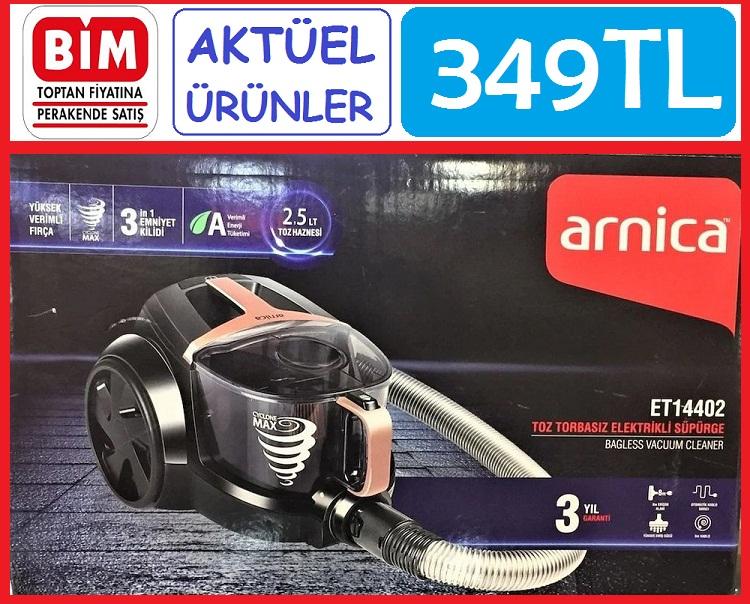Arnica ET14402 Toz Torbasız Elektrikli Süpürge BİM aktüel ürünler