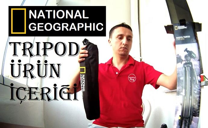 Manfrotto National Geographic Tripod Ürün İçeriği