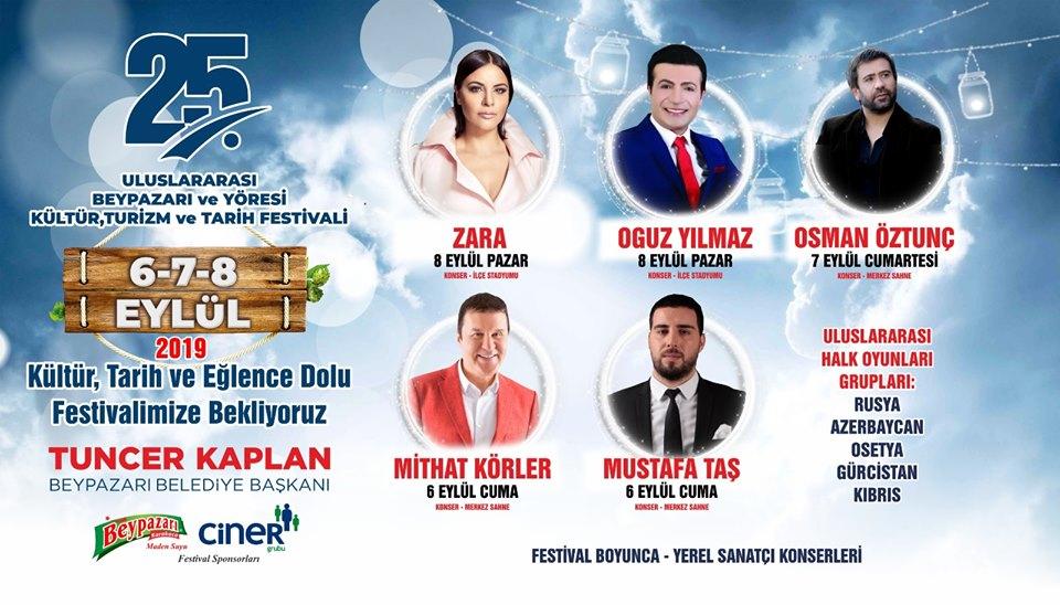 Beypazarı Festivali 2019 Konserleri