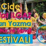 Cide Sarı Yazma Festivali 2019