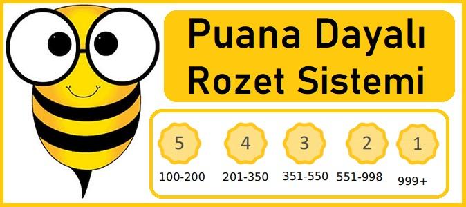 Yazbee Puana Dayalı Rozet Sistemi
