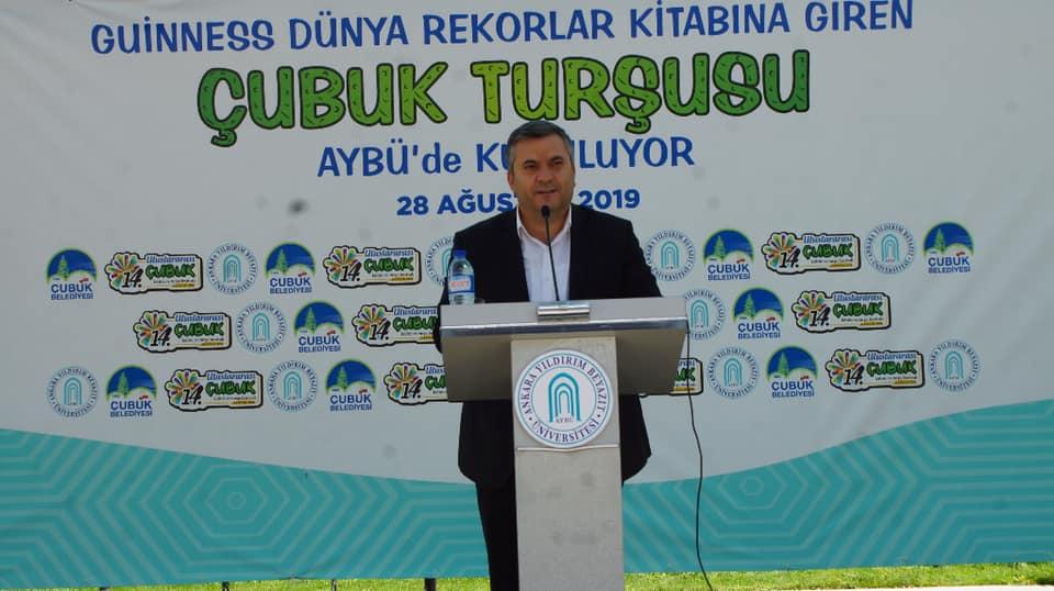 Ankara Yıldırım Beyazıt Üniversitesinde İlk Ders Çubuk Turşusu