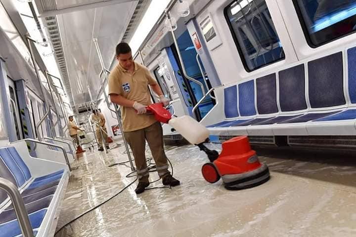 Ankara'da Ego Otobüsleri ve Metrolar Her gün Temizleniyor