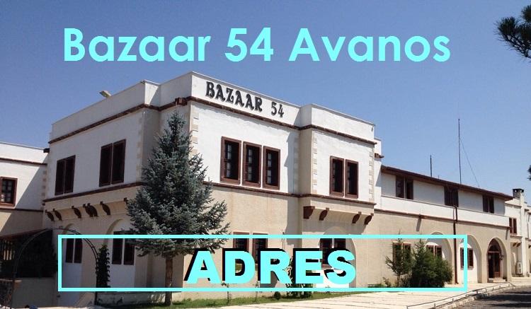 Bazaar 54 Avanos Adres