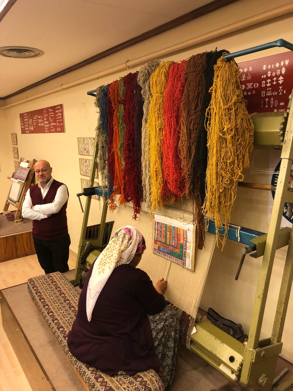 Bazaar 54 Halı Dokuyan Kadınlar