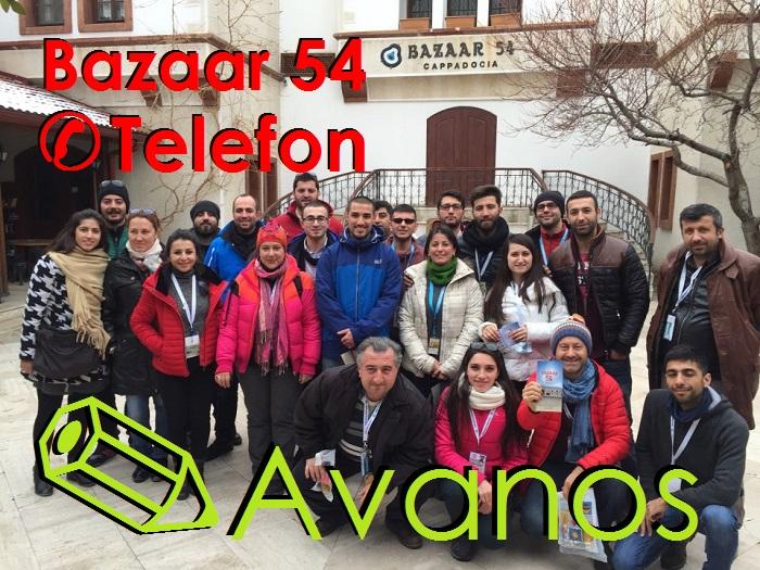 Bazaar 54 Avanos Telefon No