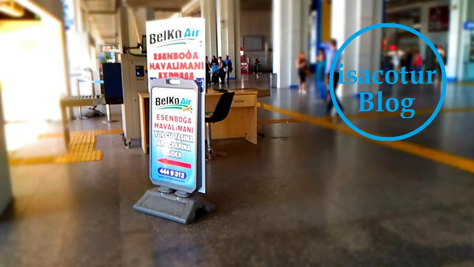 Belko AirKızılay Havaalanı Kaç Dakika