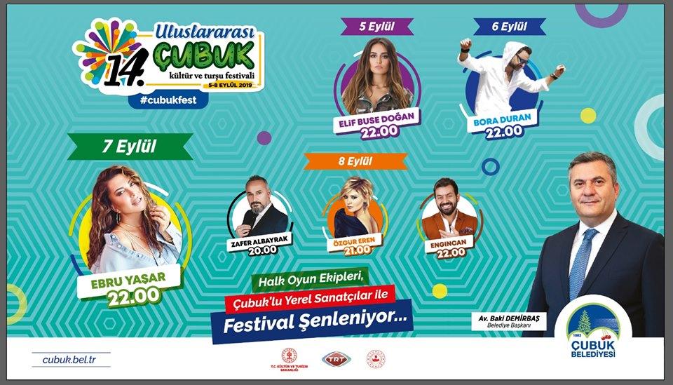 Çubuk Turşu Festivali'nde Sahne Alacak Sanatçılar
