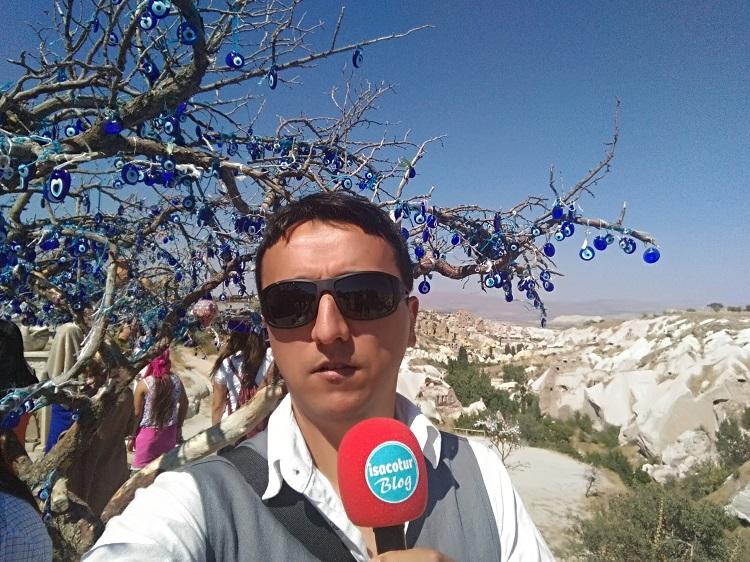 Nazar Boncuklu Ağaç Yol Tarifi