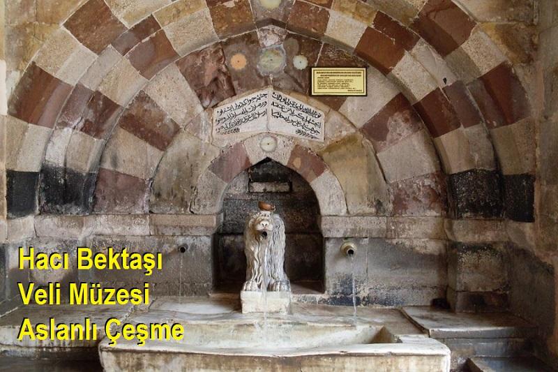 Hacı Bektaşı Veli Müzesi Aslanlı Çeşme