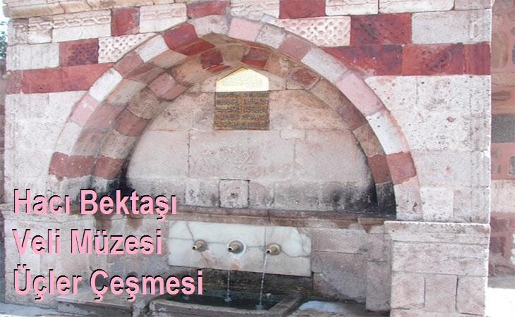 Hacı Bektaşı Veli Müzesi Üçler Çeşmesi