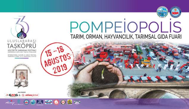 Kastamonu Taşköprü Sarımsak Festivali 2019 Pompeiopolis