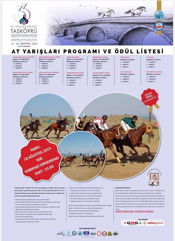 2019 Taşköprü Sarımsak Festivali