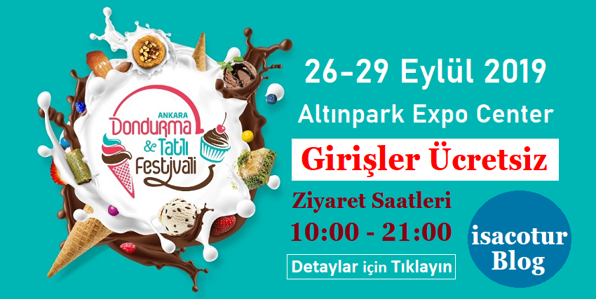 2.Uluslararası Dondurma ve Tatlı Festivali Ankara 2019 kapak resmi