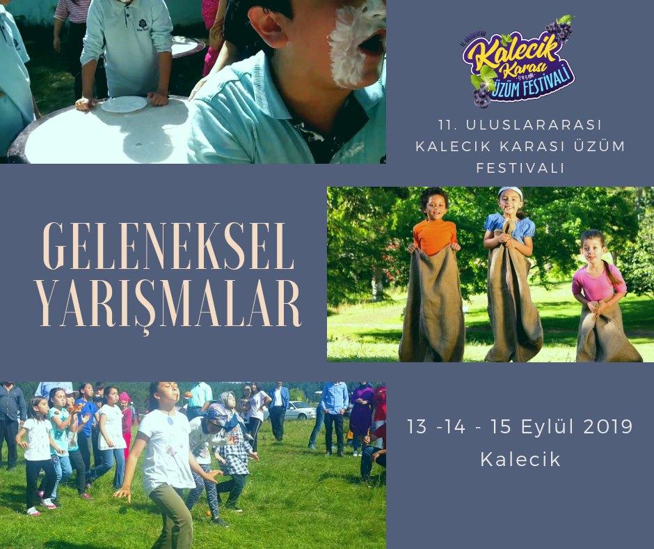 Kalecik Karası Üzüm Festivali Yarışmalar