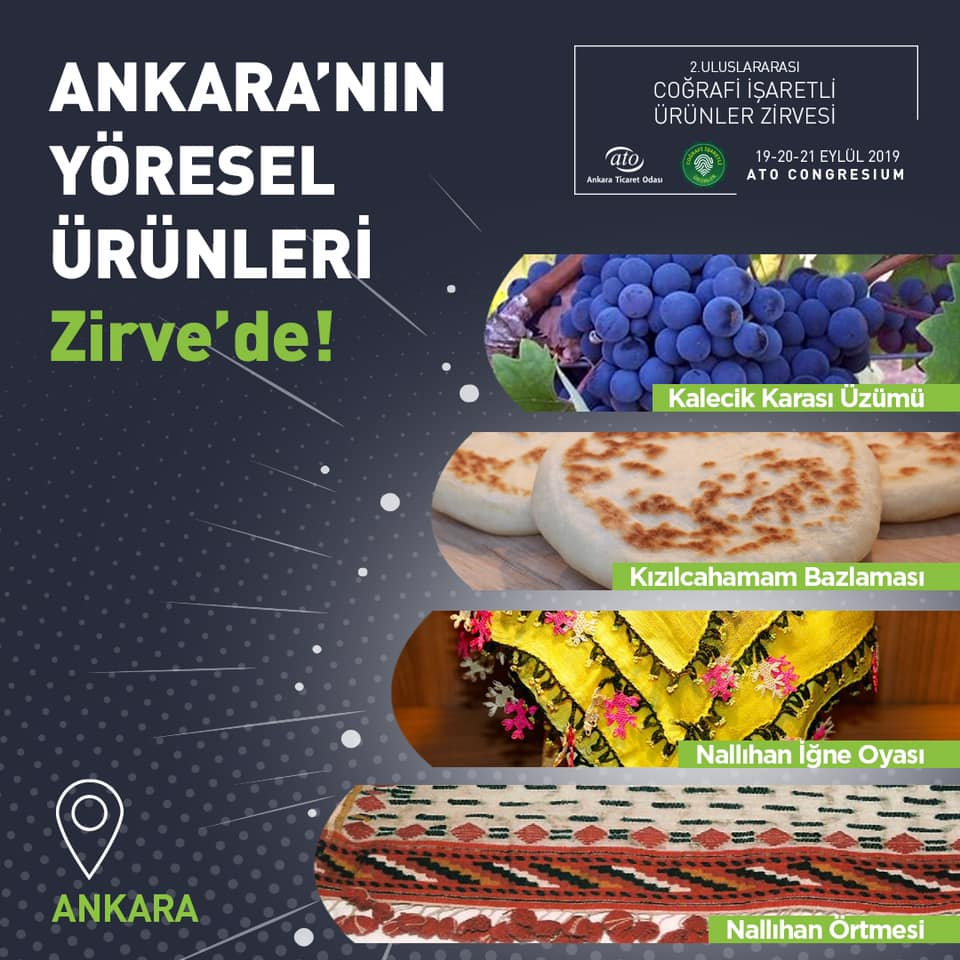 Ankara'nın Coğrafi İşaretli Ürünleri Nelerdir?