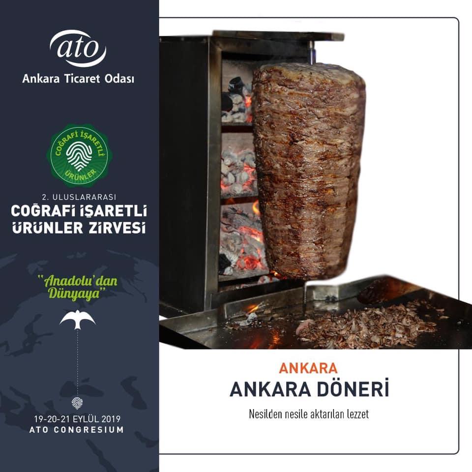 Ankara'nın Coğrafi İşaretli Ürünleri ANKARA DÖNERİ
