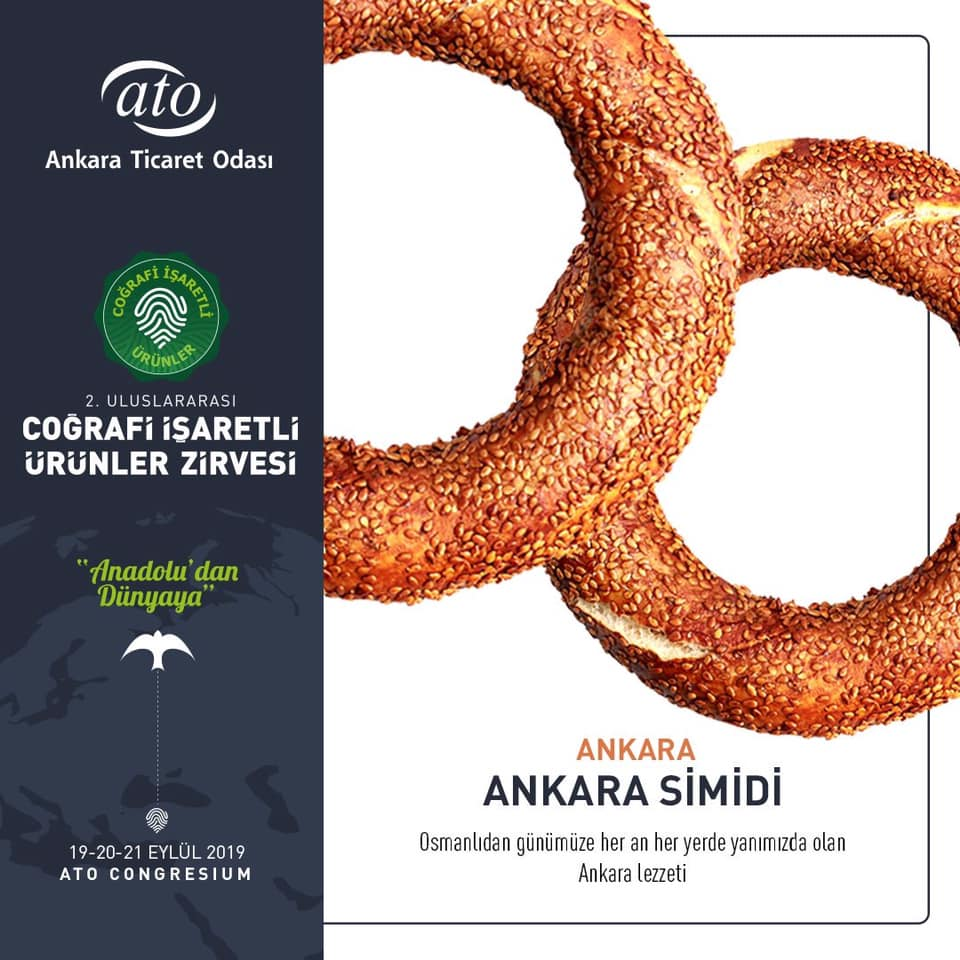 Ankara'nın Coğrafi İşaretli Ürünleri ANKARA SİMİDİ