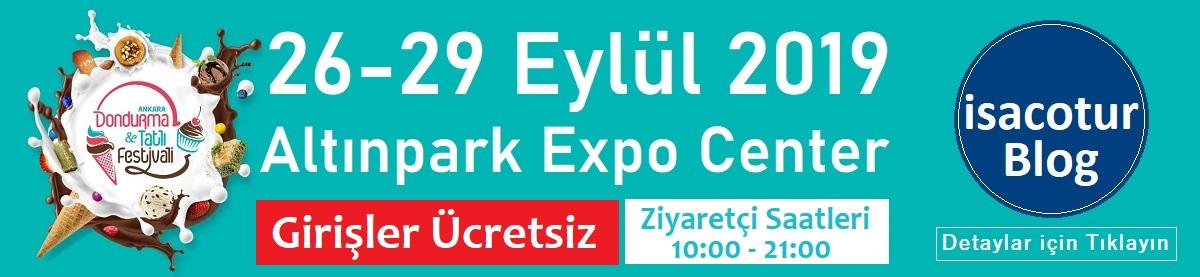 2019 Uluslararası Dondurma ve Tatlı Festivali Ankara 970x250 Banner