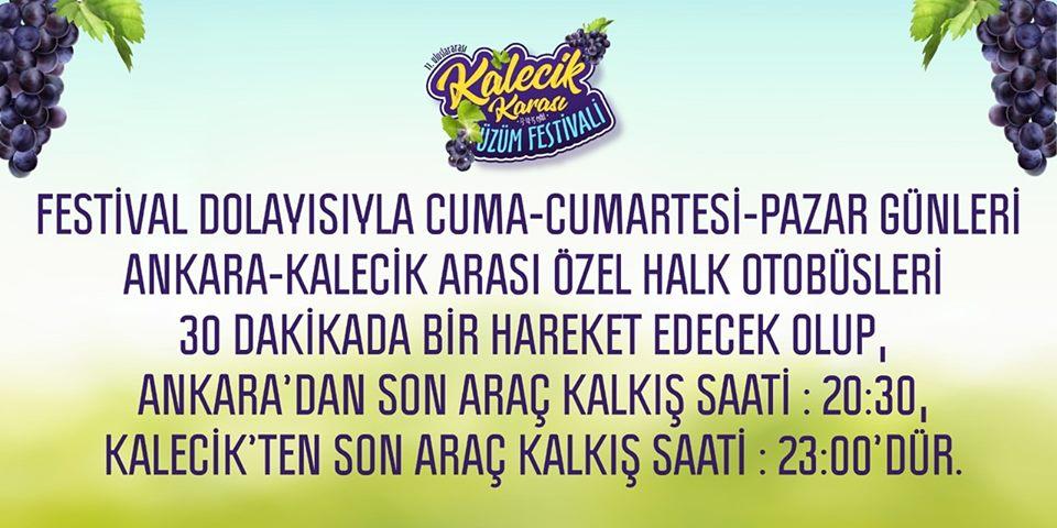 Ankara'dan Kalecik Nasıl Gidilir?