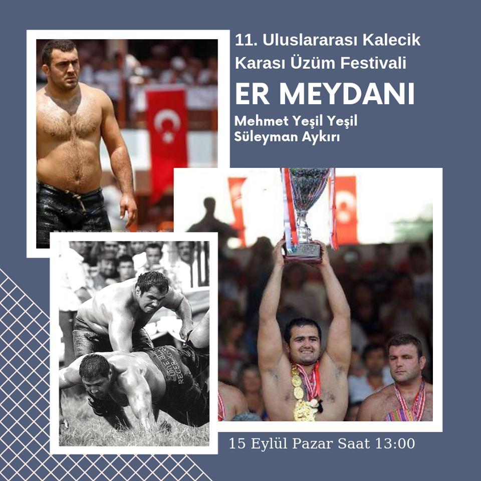 Kalecik Festivali Yağlı Güreş (Mehmet Yeşil Yeşil, Süleyman Aykırı)