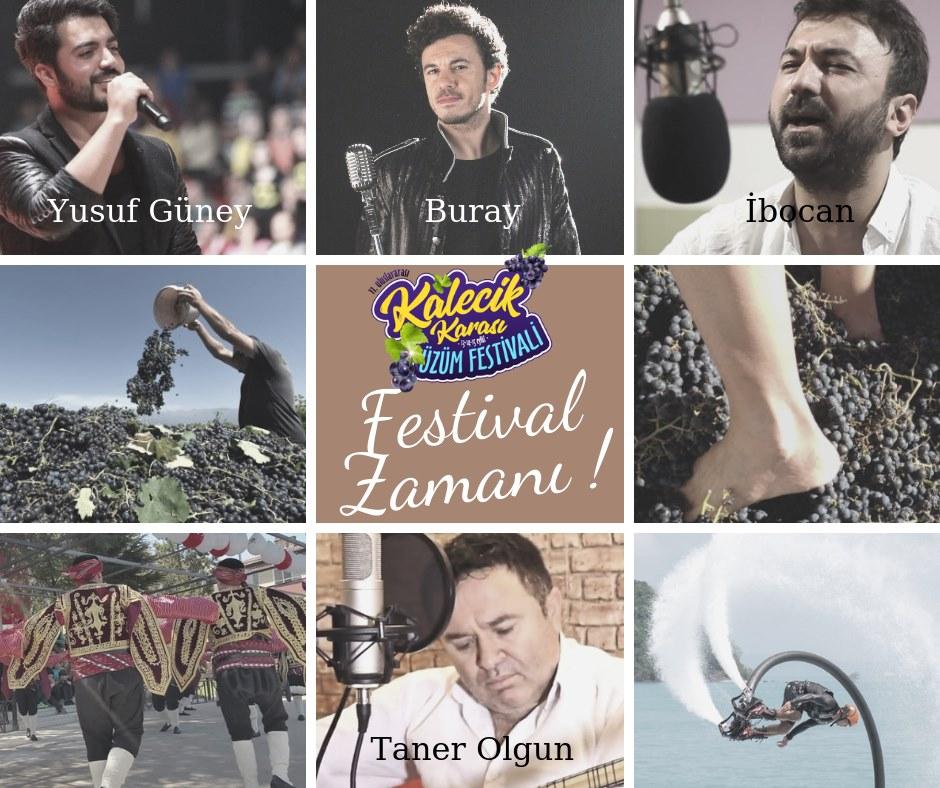 Kalecik Karası Üzüm Festivali Taner Olgun Konseri