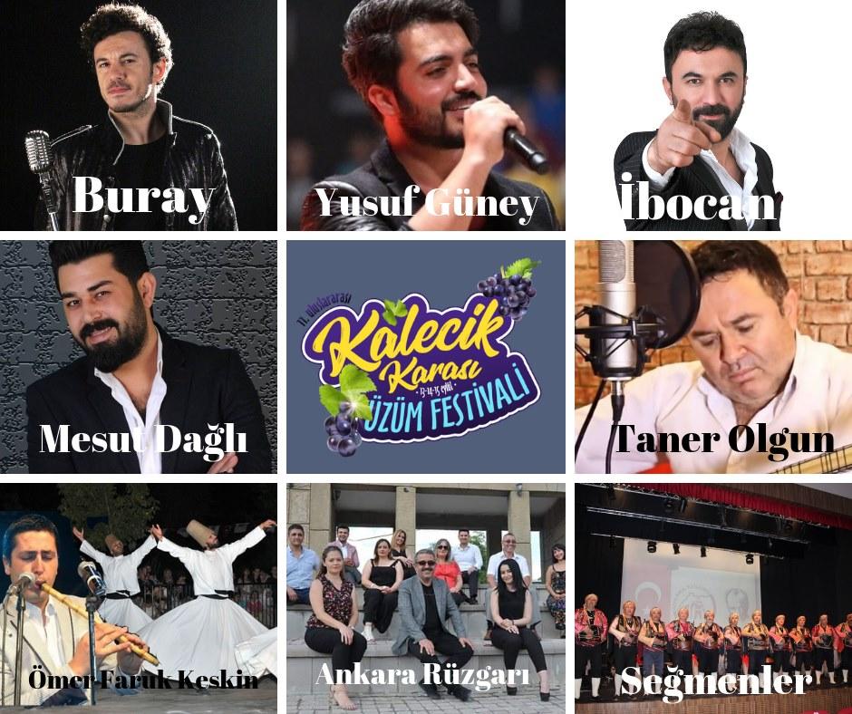 Kalecik Karası Üzüm Festivali Mesut Dağlı Konseri