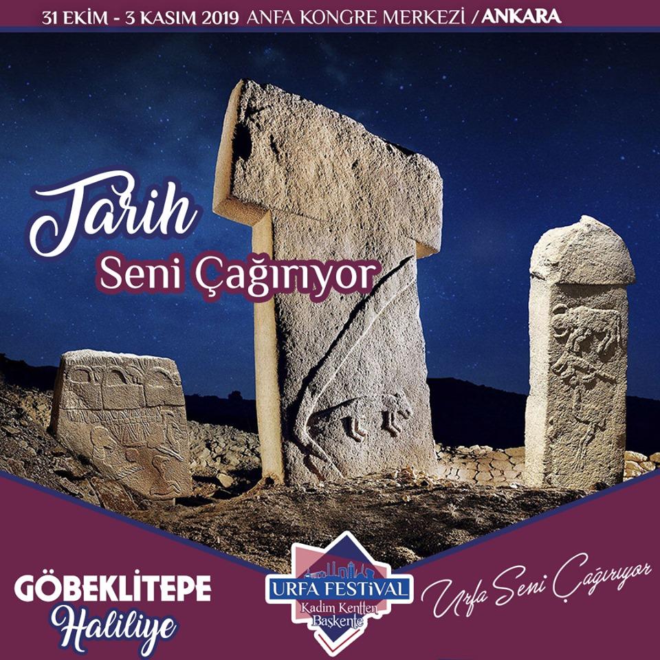 Şanlıurfa Tanıtım Günleri 2019 Ankara göbelli tepe