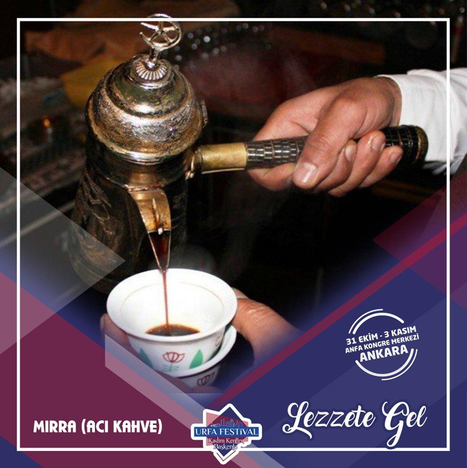 Şanlıurfa Tanıtım Günleri 2019 Ankara mırra kahvesi
