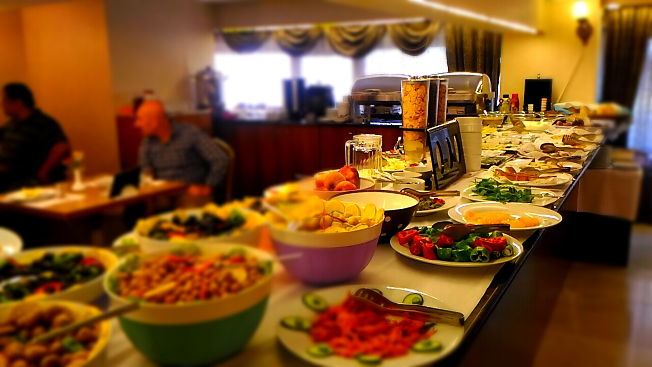 Tac Mahal Otel Ankara Serpme Kahvaltı
