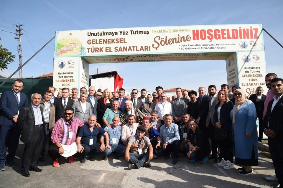 Unutulmaya Yüz Tutmuş Geleneksel El Sanatları Sergisi Ankara Kalesinde