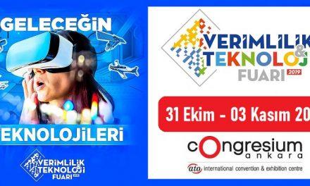 Verimlilik ve Teknoloji Fuarı 2019 Ankara