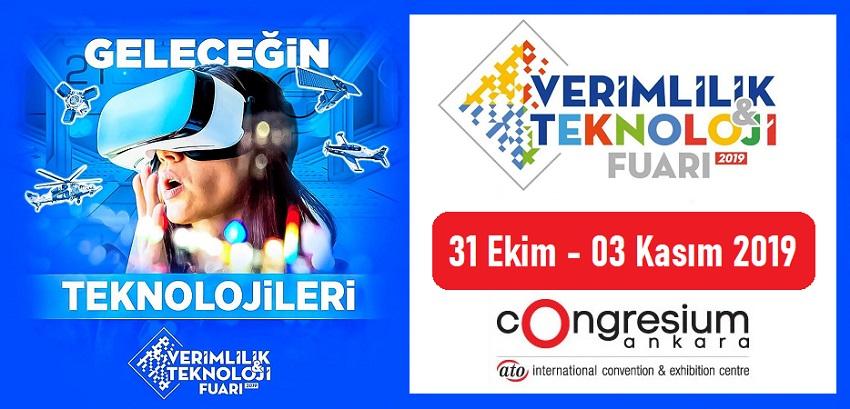 2. Verimlilik ve Teknoloji Fuarı 2019 Ankara