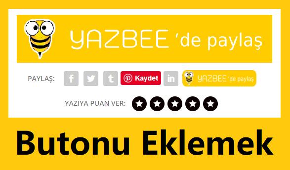 Web Sitenize Yazbee Paylaş Butonu Eklemek