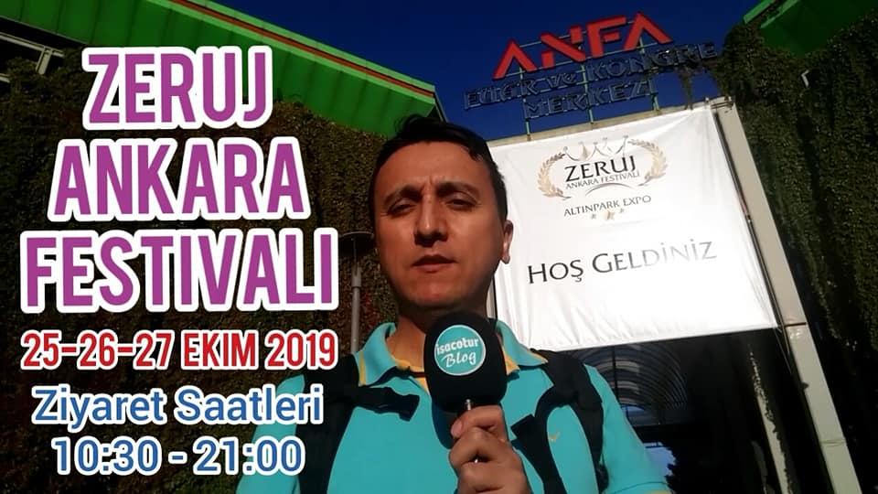 Zeruj Festivali Ankara 2019 Altınpark'ta