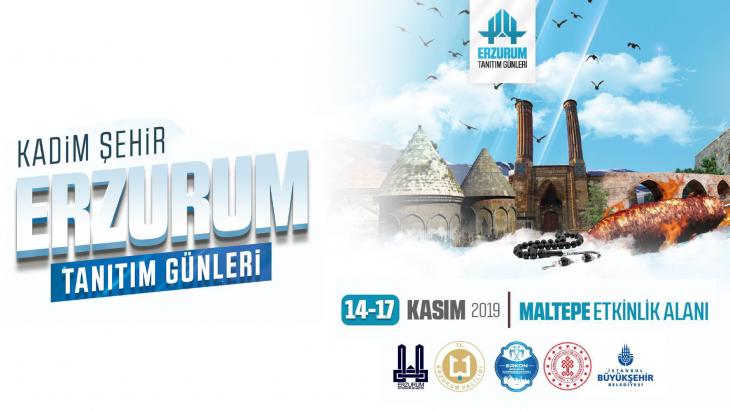 Kadim Şehir Erzurum Tanıtım Günleri 2019 İstanbul