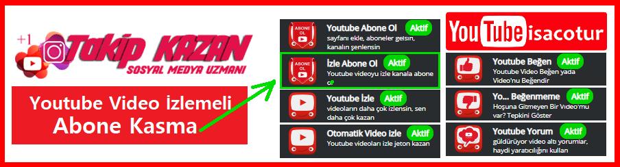 TakipKazan ile Youtube Abone Kasma