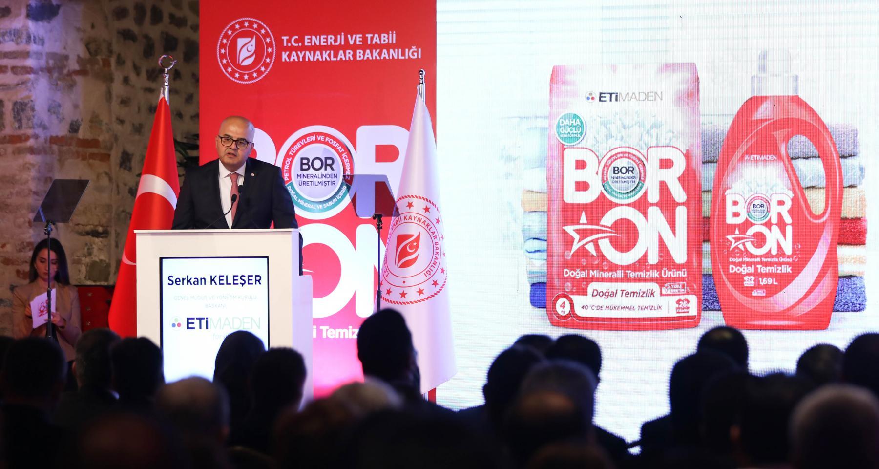 Eti Maden Genel Müdürü ve Yönetim Kurulu Başkanı Serkan Keleşer