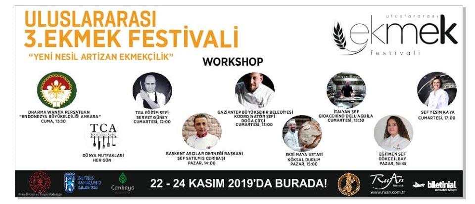 3.Uluslararası Ankara Ekmek Festivali 2019