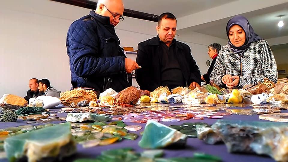 Burhan Cücük Çubuk Doğal Taşlar İşleme Atölye Çalıştayı Fotoğrafları