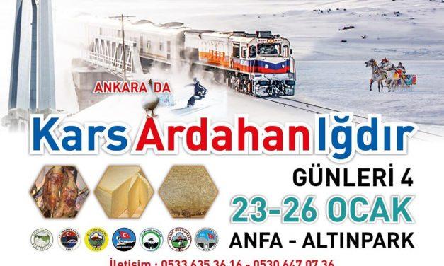 Kars Ardahan Iğdır Günleri Tanıtım Günleri 2020 Ankara
