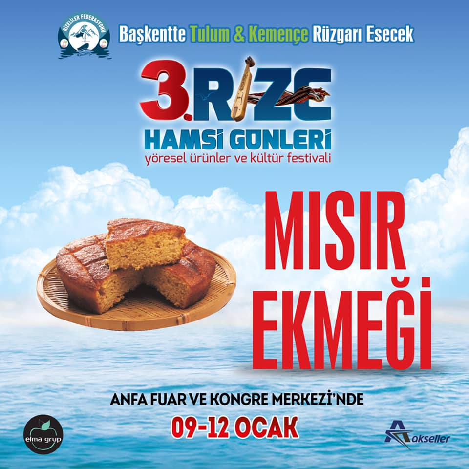 3. Rize Tanıtım Günleri Festivali 2020 Ankara Konserlerleri MISIR EKMEĞİ