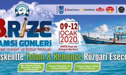 Rize Hamsi Festivali Günleri 2020 Ankara